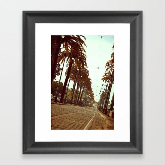 San Francisco 3 Framed Art Print