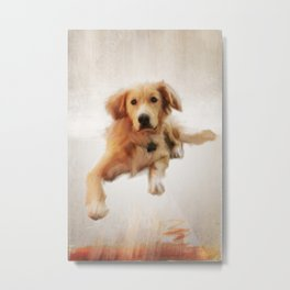 Finnegan Oversized Metal Print
