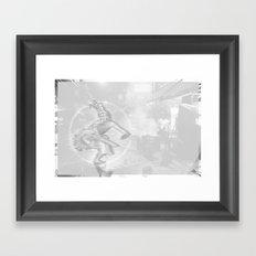 SOi 4 Mono Framed Art Print