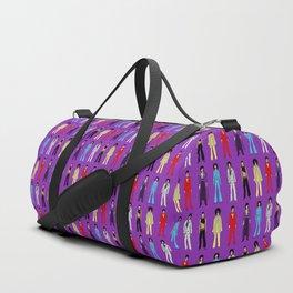Outfits of Purple Fashion on Purple Duffle Bag