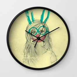 UNPRETTY Wall Clock