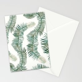 tropical leves wild Stationery Cards