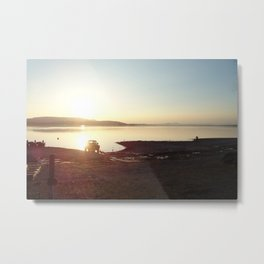 Sunset Lovely Sunset Metal Print