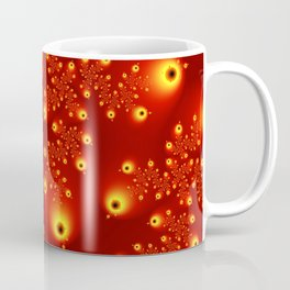 Fractal The Red Firmament Coffee Mug