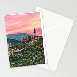 Eastern castle in the sunset, Cingjing, Taiwan Stationery Cards