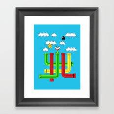 Pipe Dreams Framed Art Print
