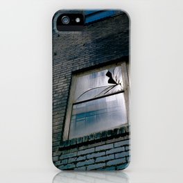 Blue Street Abstracts 4 iPhone Case