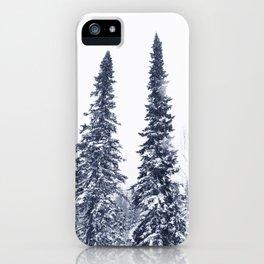 Fir-trees iPhone Case