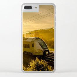 Train Spotting Clear iPhone Case