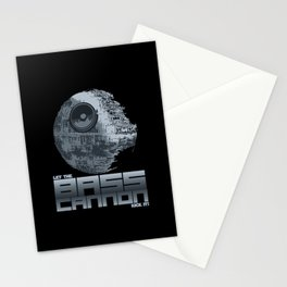 Let The Bass Cannon Kick It! Stationery Cards