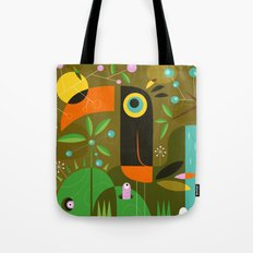 The toucan Tote Bag