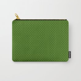 Leaf Green Scales Pattern Design Carry-All Pouch