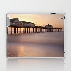 Southwold Pier at Sunrise Laptop & iPad Skin