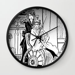 Wicked Witch Sisters Wall Clock