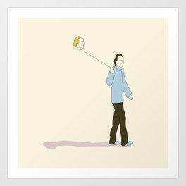 Happy Crimes Art Print