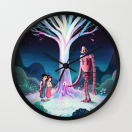 Castle in the Sky Wall Clock