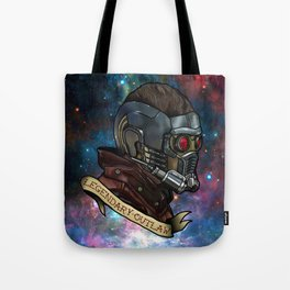 Star Lord Legendary Outlaw Tote Bag