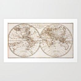 Atlas 1780 Art Print