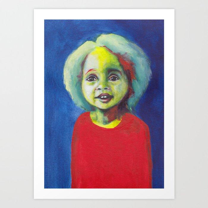 Les petites filles I.34 Art Print