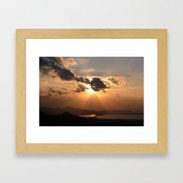 Sunset1 Framed Art Print