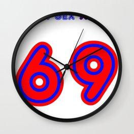 mr. sex xxx 69 Wall Clock
