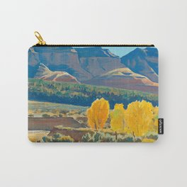 Peaceful Morning by Maynard Dixon Carry-All Pouch