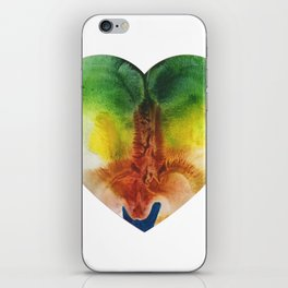 Erotic Heart iPhone Skin