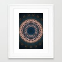 boho Framed Art Prints featuring Boho by Jane Lacey Smith