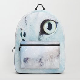 Fluffy starry cat Backpack