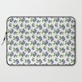 Watercolour blueberry pattern #s1 Laptop Sleeve