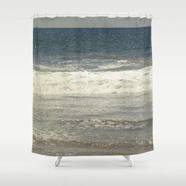 Indigo Ocean Shower Curtain