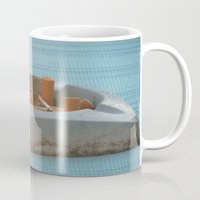 cigarettes Mugs featuring Cigarettes  by Rovar