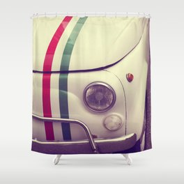 The car Shower Curtain