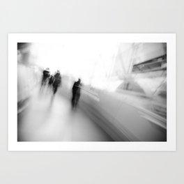 Ghosts v.1 Art Print