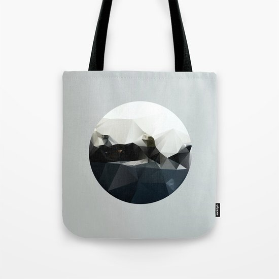 Island at Sea Tote Bag