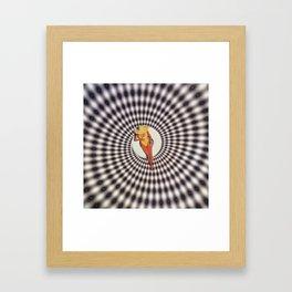 High vibration Framed Art Print