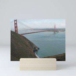 San Francisco Golden Gate Bridge Mini Art Print