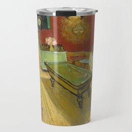 The Night Cafe by Vincent van Gogh, 1888 Travel Mug