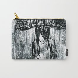 Umbrella Sketch Carry-All Pouch