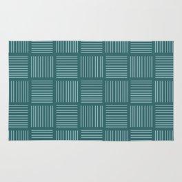 Spirit Water Stripe - Blue Rug