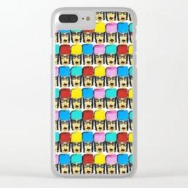 Revolunatic Colored Clear iPhone Case