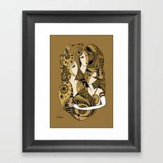 Three sisters Framed Art Print