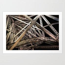 Ponte Maria Pia Art Print