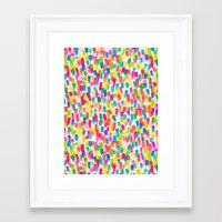 olivia joy Framed Art Prints featuring Color Joy by Jacqueline Maldonado