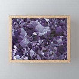 Amethyst Framed Mini Art Print