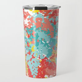 Summer Cammo Travel Mug