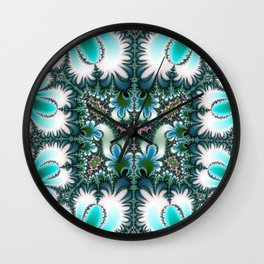 Fractal Rectangle Wall Clock