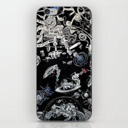 Spacestation Illustration iPhone Skin