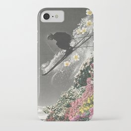 Spring Skiing iPhone Case