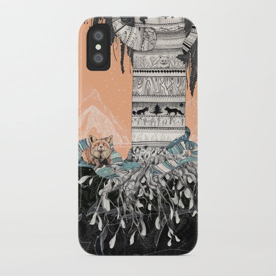 Fox Tree iPhone Case